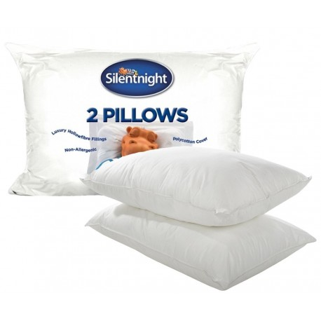 Silentnight - Hollowfibre Pillow (Pair)