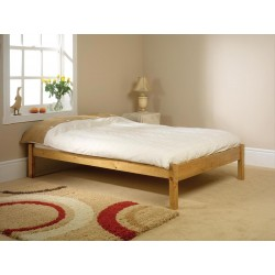 Chestnut Wooden Bed Frame