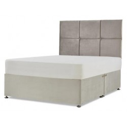 Button 2 Cubed Strutted Headboard