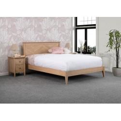 Chevron Wooden Bed Frame