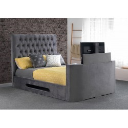 Bethany TV Fabric Bed Frame
