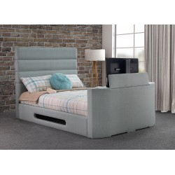 Griffin TV Fabric Bed Frame