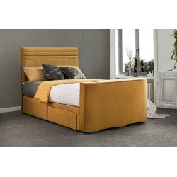 Vision Chic TV Fabric Bed Frame