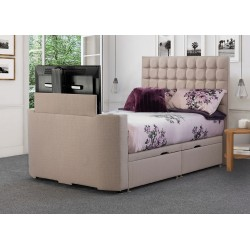 Vision Classic TV Fabric Bed Frame