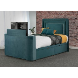 Vision Debut TV Fabric Bed Frame