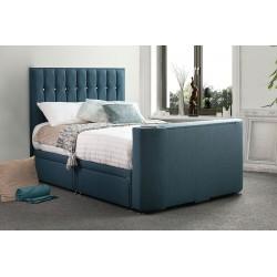 Vision Sparkle TV Fabric Bed Frame