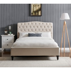 Rosa Fabric Bed Frame
