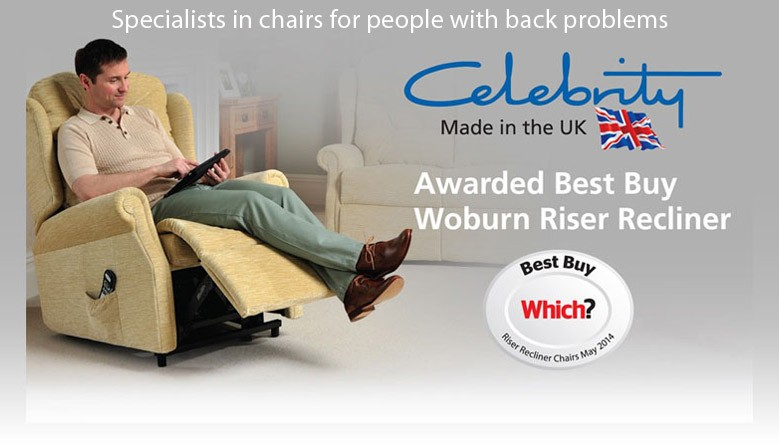 Specialists in chairs for people with bad backs