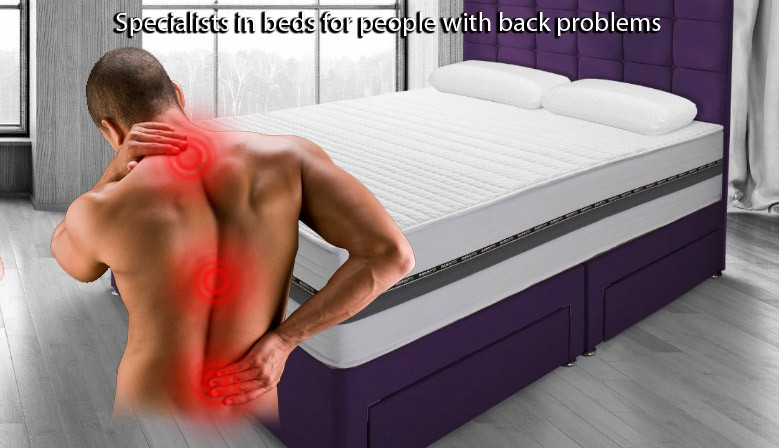 Specialists in beds for people with bad backs